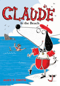Claude at the Beach Cover Art
