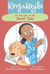 Cover: King & Kayla and the Case of the Secret Code