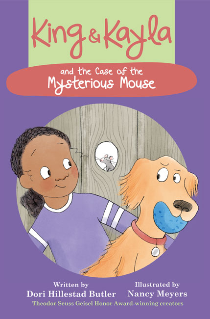 King & Kayla and the Case of the Mysterious Mouse Cover Art