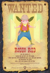 Rodeo Red Poster