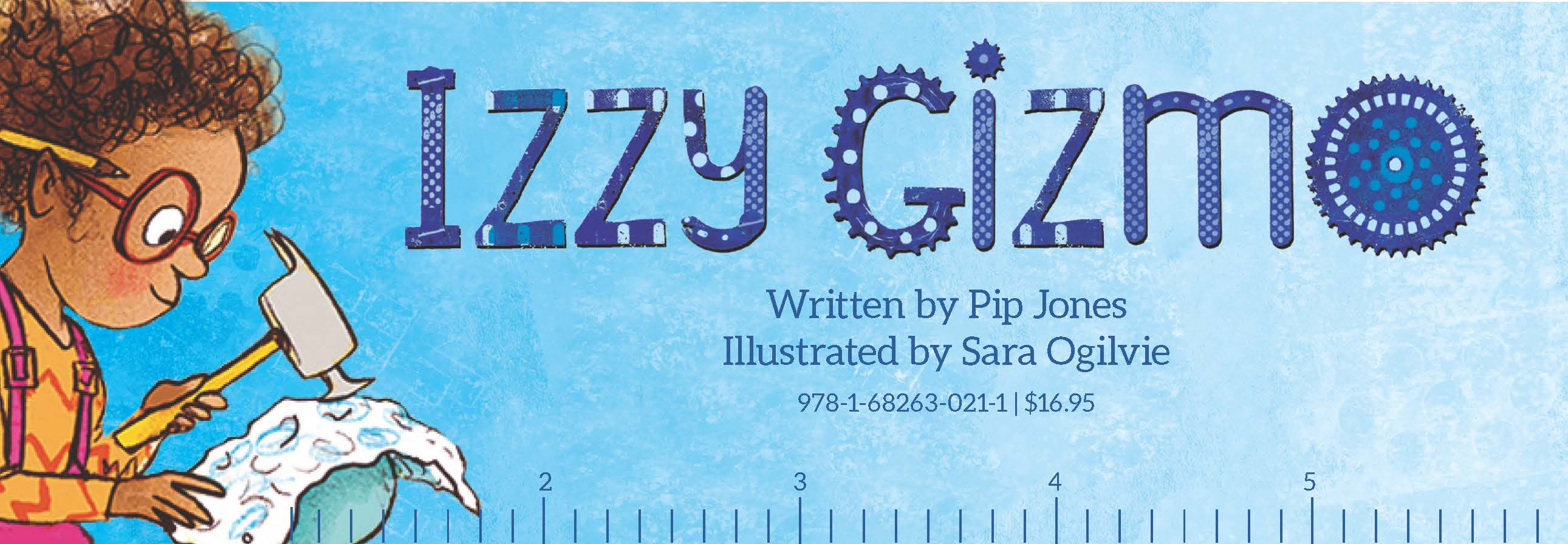 Izzy Gizmo Bookmark