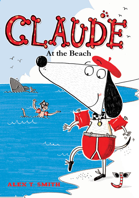 Claude at the Beach