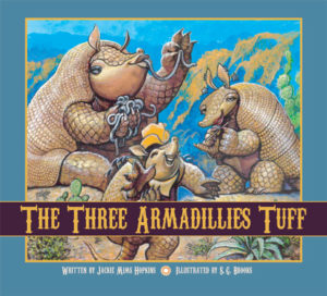 The Three Armadillies Tuff