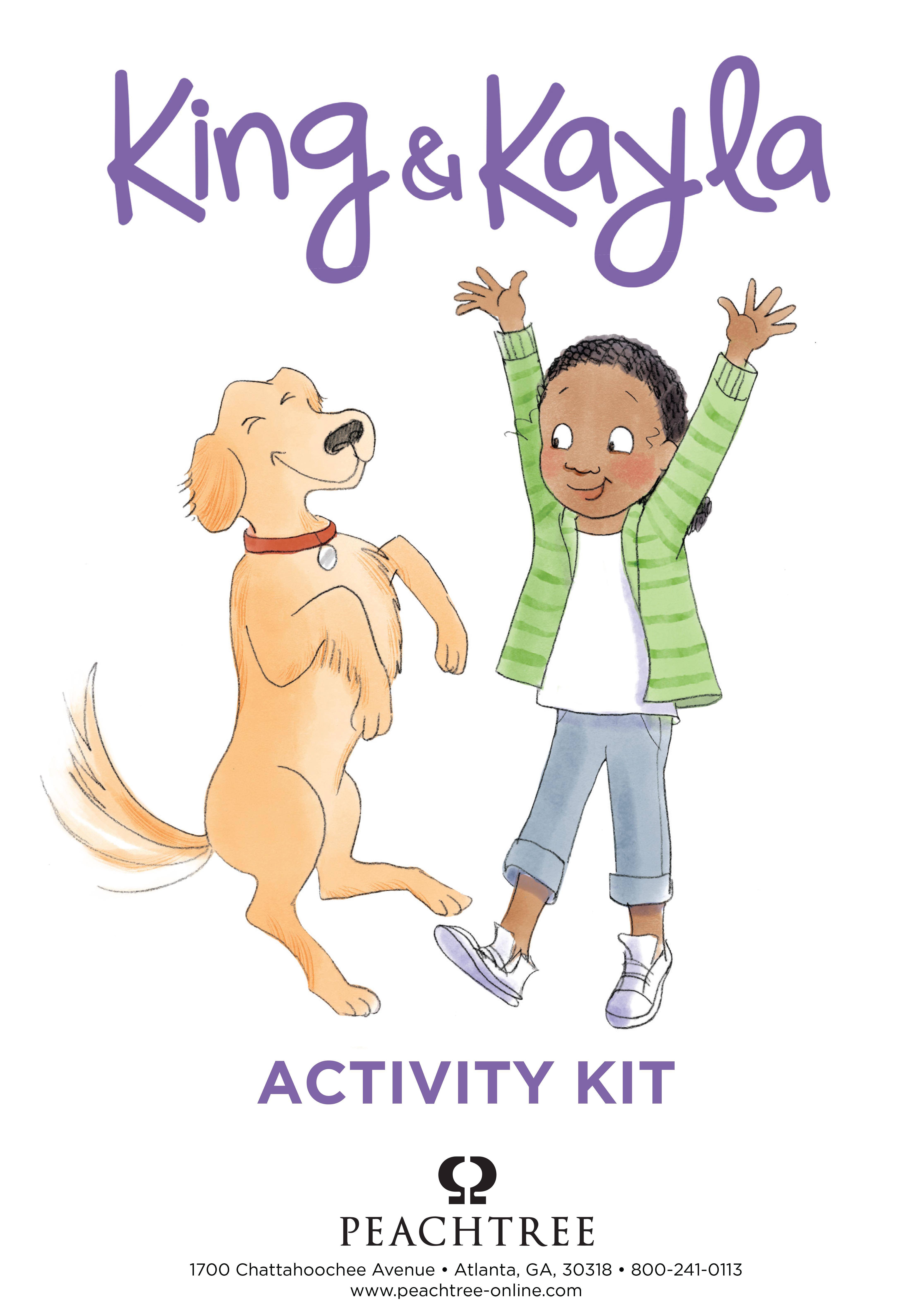 King & Kayla Series Activity Kit