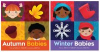 autumn winter babies board books