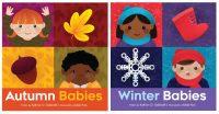 autumn winter babies board books