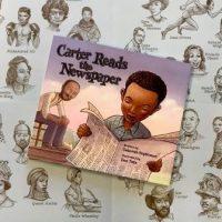 CarterReadstheNewspaper