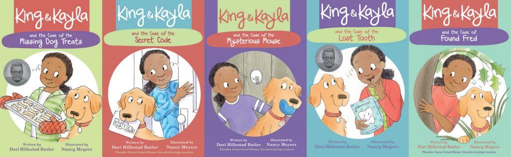 KK series book covers