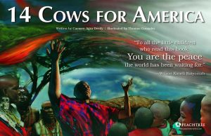 14 Cows for America Poster
