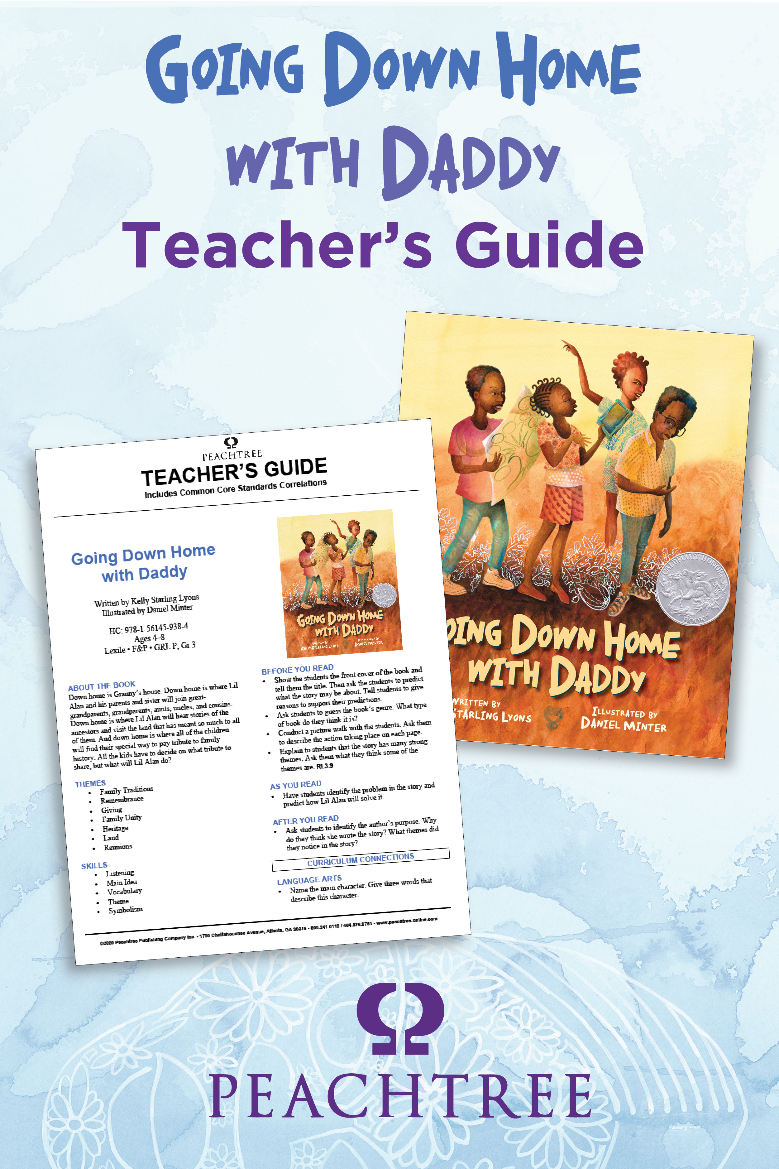 Going Down Home with Daddy Teacher's Guide