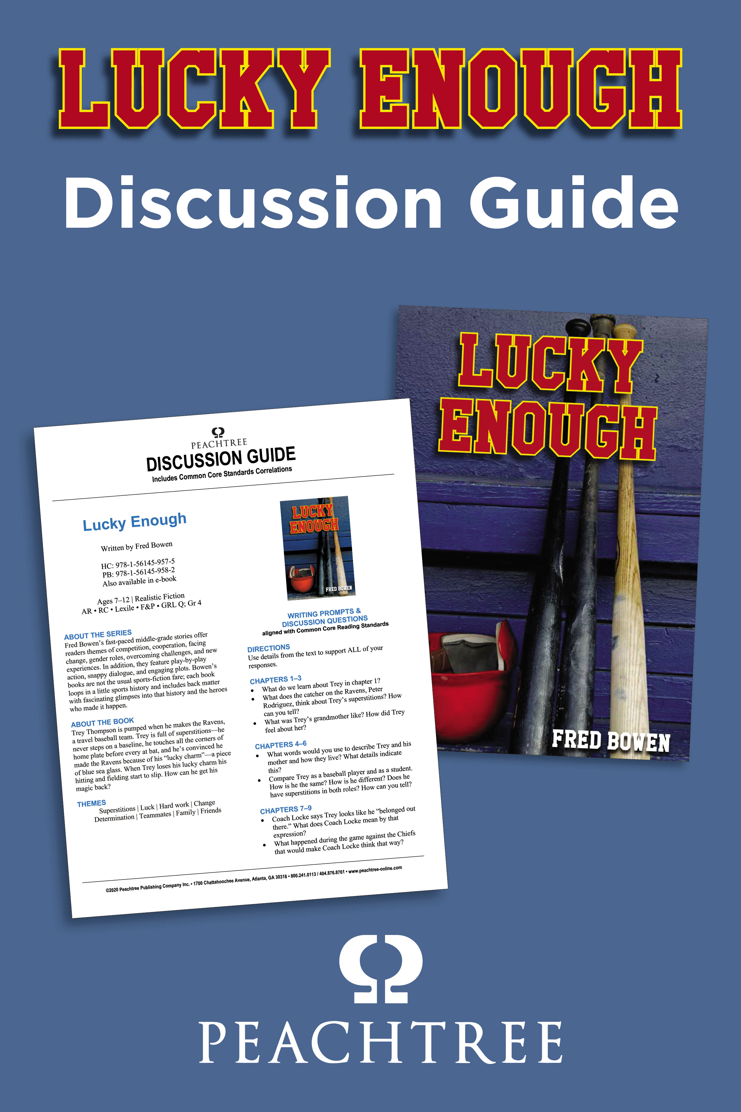 Lucky Enough Discussion Guide Graphic