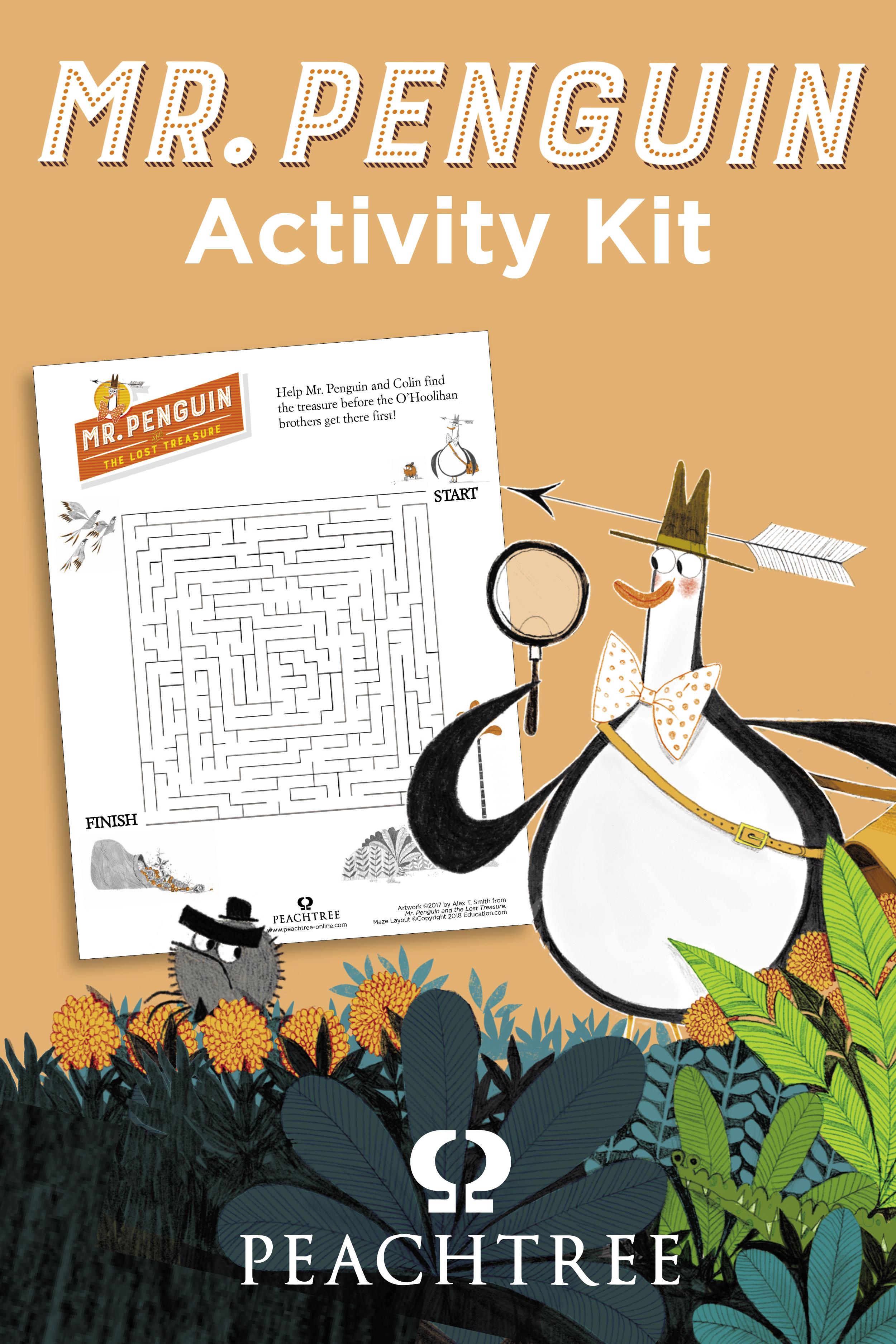 Mr Penguin Activity Kit