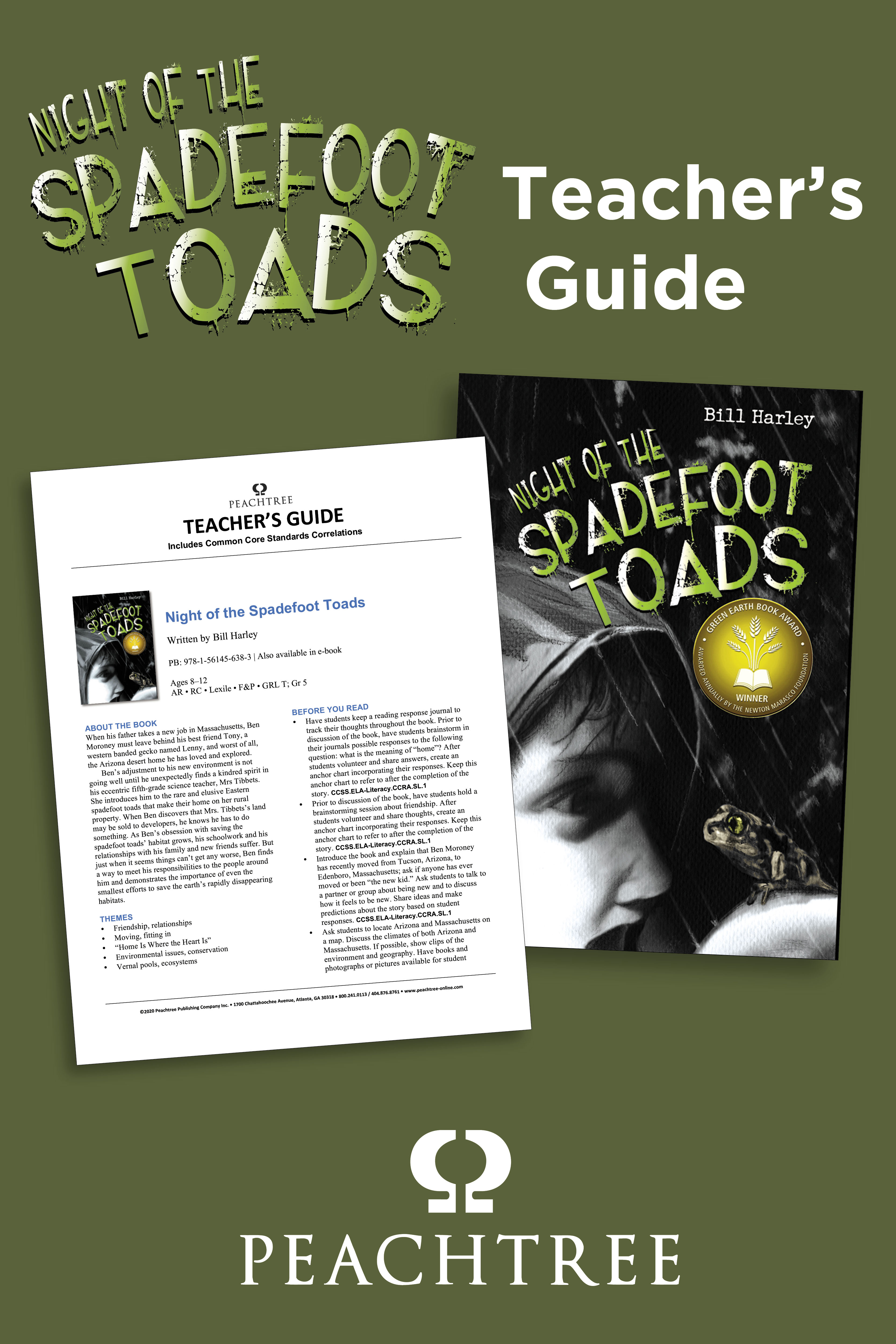 Night of the Spadefoot Toads Teacher's Guide