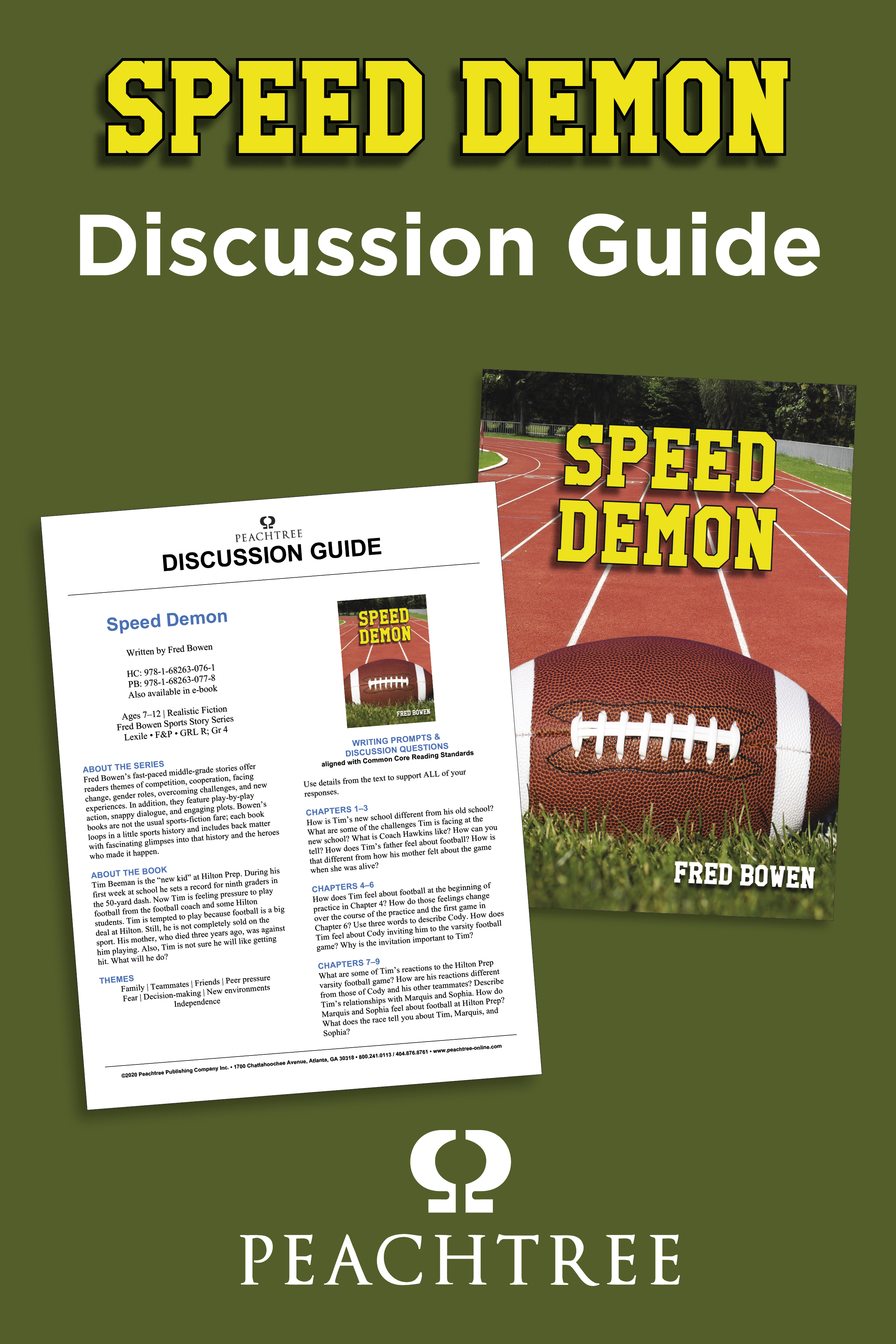 Speed Demon Discussion Guide Graphic
