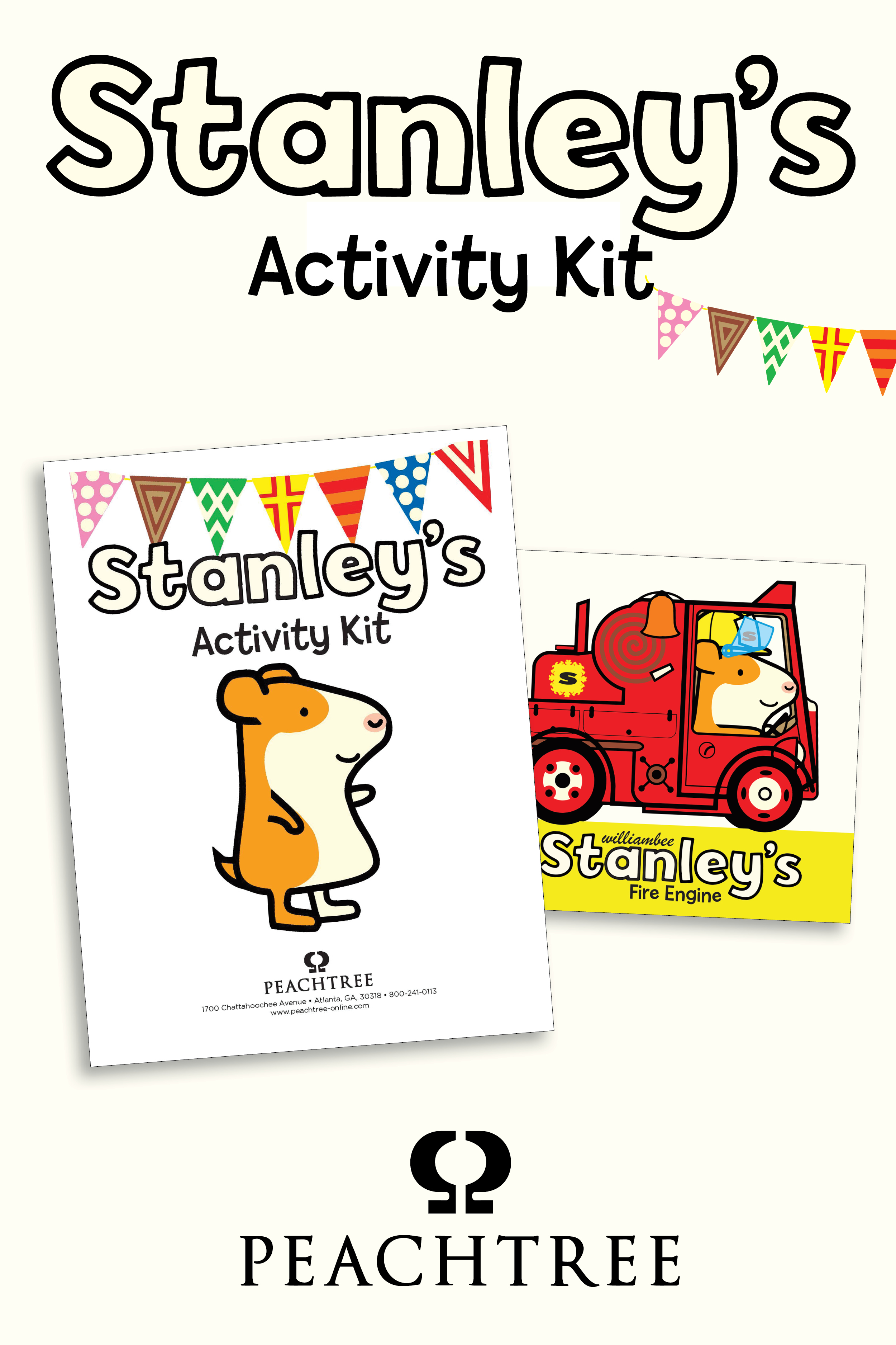 Stanley's Fire Engine Activity Kit