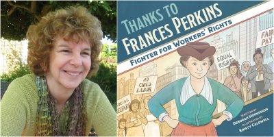Author Deborah Hopkinson