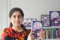 Nizrana photo with book