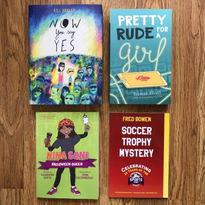 Middle Grade and Young Adult Fall Books